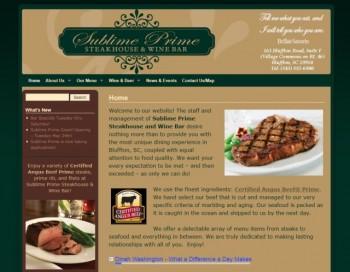 Sublime Prime Steakhouse & Wine Bar